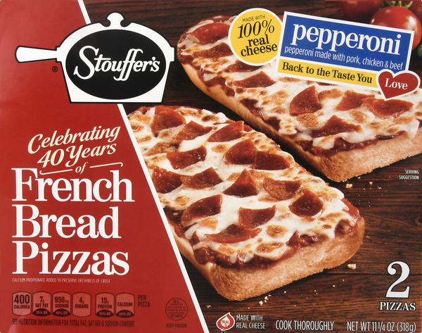 Stouffer's French Bread Pizzas, Pepperoni