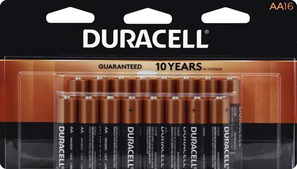 Duracell Batteries, Alkaline, AA