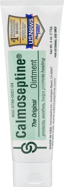 Calmoseptine Ointment, The Original