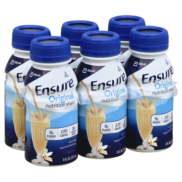 Ensure Nutrition Shake, Original, Vanilla