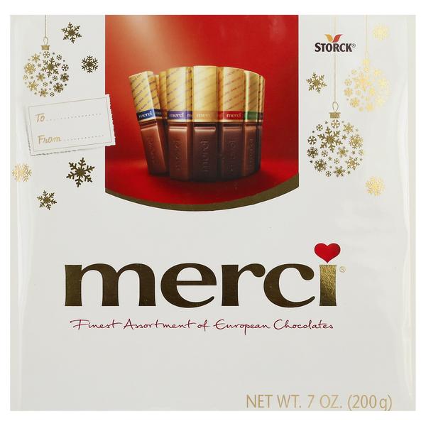 Merci Chocolates, European, Assortment