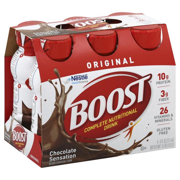 Boost Nutritional Drink, Complete, Original, Chocolate Sensation