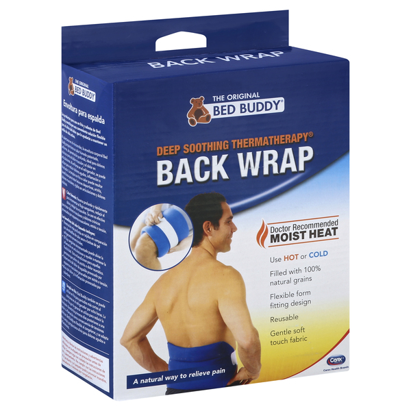 Bed Buddy Wrap, Back