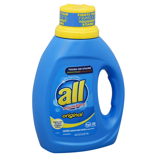 all Detergent, with Stainlifters, Original